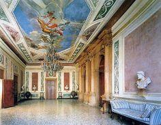 Палаццо Кверини Стампалья, г. Венеция, Италия - полы терраццо 19 века