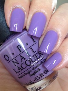 GioNails: Do You Lilac It? - O.P.I. + Boogie Nights - Models Own