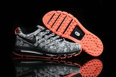 Free Shipping Only 69$ Nike Fingertrap Max NRG Camo Grey Total Orange