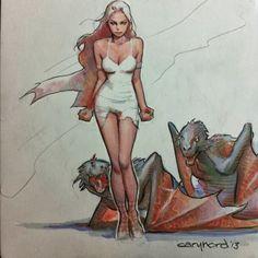 Daenerys Targaryen - Game of Thrones - Cary Nord