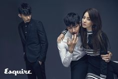 Esquire Korea   2NE1 Sandara Park 산다라 박 with 박형섭 & 김영
