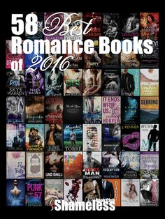 Congrats to these 58 best romance books of 2016! ❤ What a fabulous list from @angiepangie!