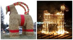 On Sunday night, the 2016 Gävle goat was burned to the ground just hours after a party in his honour. Gävle goat spokesperson Maria Walberg says she hopes another goat will be built before Christmas.