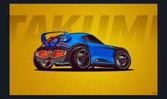 Rocket League Wallpaper - Takumi