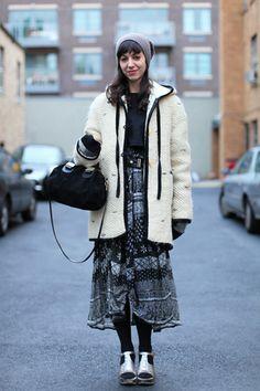 10 cozy-cool winter street style looks : mix mistress