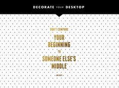 Decorate Your Desktop: 01