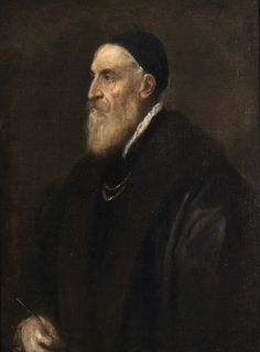 Titian  - Self-portrait - Titian seems to have painted no self-portraits until he was in old age, 1567