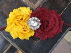 Washington Redskins, University of Minnesota, FSU, Florida State, USC Trojans, Arizona State Sun DevilsStretch Headband on Etsy, $8.99