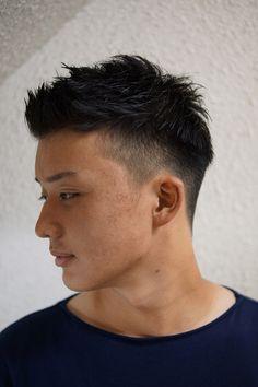 Asian Men Short Hairstyle, Japanese Men Hairstyle, Asian Man Haircut, Short Fade Haircut, Mens Hairstyles With Beard, Asian Short Hair, Undercut Hairstyles, Haircuts For Men, Short Hair Cuts