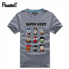 Special offer Superman/Captain America Popular Super hero cartoon funny t shirts Men casual print emoji tee shirt camiseta,15 color, M-XXXL just only $11.12 with free shipping worldwide  #tshirtsformen Plese click on picture to see our special price for you