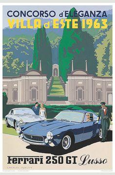 Concorso Villa d'Este 1963