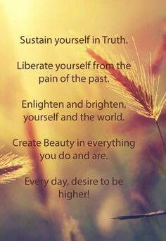 Sustain, Liberate, Enlighten & Create