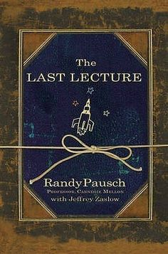 Love The Stacks - The Last Lecture by Randy Pausch, $13.00 (http://www.lovethestacks.com/the-last-lecture-by-randy-pausch/)