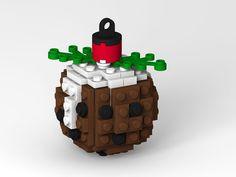 Lego Pudding Christmas Tree Ornament