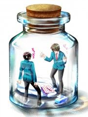 unknown Pixiv Bottle ::: Someone please tell me who these guys are