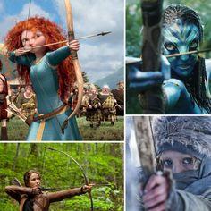 Women archers in film
