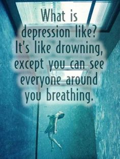 quotes+about+drowning+in+depression