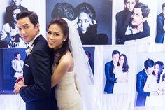 Toni Gonzaga and Paul Soriano at Wedding Reception | http://brideandbreakfast.ph/2015/06/16/toni-gonzaga-paul-soriano-wedding-photos-reception/ | Photo: Metrophoto