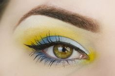 Sailor Uranus inspired makeup by http://thebeautyinspirations.com/2016/03/sailor-uranus-inspired-make-up-blogparade/