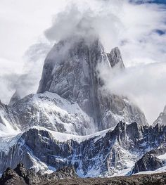 """Wilderness Culture on Instagram: """"Mt Fitz Roy #patagonia Photo: @backcountry13 #wildernessculture"""""""