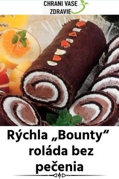 Sweet Desserts, No Bake Cake, Sausage, Food And Drink, Meat, Baking, Ethnic Recipes, Recipes, Sausages