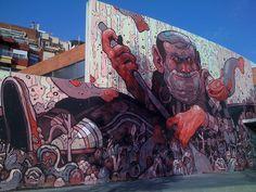 New Muralism - Aryz - Barcelona | Flickr