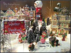 Christmas village, christmas decorating , christmas decor