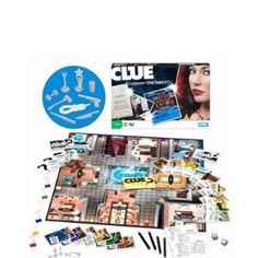 Clue board game. LOVED this game