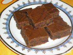 Orechový brownies