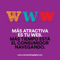#DiseñoWeb www.mdmarketingdigital.com