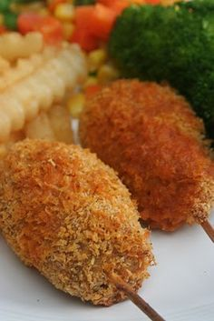 Drumsticks.  Tried it, meh...might try again but not with panko. Tore up the roof of my mouth.