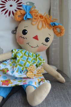 Lulu | primitive rag doll pattern by CindysHomespun on etsy,… | Flickr