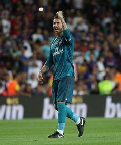 Sergio Ramos Barcelona vs Real Madrid | 13.08.17
