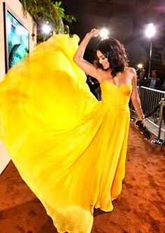 I need a yellow dress
