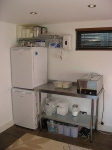 How to make cheese at home: setting up your own cheese-making room....for my wish list!