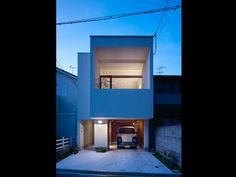 a small modern design house in Japan