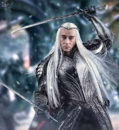 Thranduil 12 inch (30 cm) Action Figure from Asmus Toys.