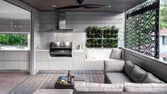 So right. Have a good look at this use of space down to the herb garden. Indoor Barbeque..in an outdoor space. Cool seaside kitchen idea.  Nick.covell@hehku.co.uk