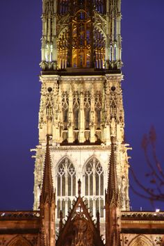 Cathedral in Rouen, France  #Europe #travel