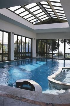 My dream house with beautiful indoor pool. #DreamHouse #EstateAgent