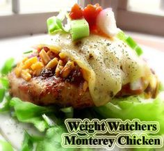 Weight Watchers Monterey Chicken