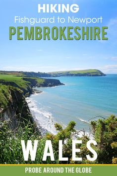 Read about hiking from Fishguard to Newport on the Pembrokeshire Coast Path. Read my practical tips for walking this part of the Wales Coast Path and enjoy my pictures and video to help you inspire to also explore this area of Wales #wales #hiking #pembrokeshire #pembrokeshirecoast #coastalpath #fishguard #newport #longdistancewalking
