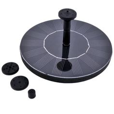Solar Fountain Pump Bird BathNXDA Floating Outdoor Solar Powered Bird Bath Water Fountain Pump Kit For Pool Garden Aquarium Black ** To learn more, check out image web link. (This is an affiliate link). Water Fountain Pumps, Bird Bath Fountain, Fountain Garden, Led Garage Lights, Garage Lighting, Pond Kits, Solar Water Pump, Tabletop, Water Sprinkler