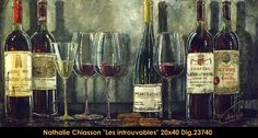 Nathalie Chiasson original acrylic painting on canvas #nathaliechiasson #art #artist #canadianartist #quebecartist #originalpainting #acrylicpainting #wine  #multiartltee