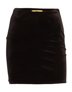 Velvet Bodycon Mini Skirt in Black £ 7.95 www.chiarafashion.co.uk/velvet-bodycon-mini-skirt-in-black.html #coord #set #black #velvet #mini #skirt #celebritystyle
