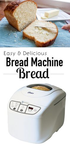 Get homemade bread the easy way. The most Delicious Bread Machine bread recipe ever!