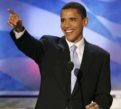 Barack Obama - not to be disrespectful, but the guy is handsome and charismatic.