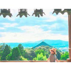 オフショット3です。 『奈良ノススメ: 声地探訪 vol.1 久保ユリカ編』  http://www.shogakukan-cr.jp/seichitanbou/  #NARA #奈良 #나라 #kuboyurika #久保百合花 #쿠보유리카 #shikaco #小鹿 #시카코 #guidebook #temple #절 #二月堂