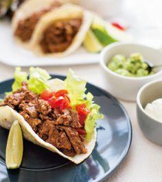 アメリカン・ビーフのタコス | レシピ | アメリカン・ビーフ&アメリカン・ポーク公式サイト(米国食肉輸出連合会)