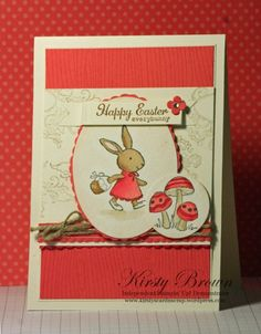 SOMEBUNNY stamp set from Stampin' Up!, Kirsty's Cards n' Scrapping